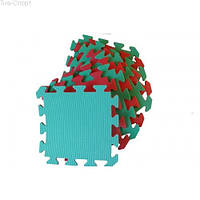 Набор мягкие полы, коврик пазл 30х30х0,8см ТМ Тia-sport Тиа-Спорт: sm-0231 (Украина)