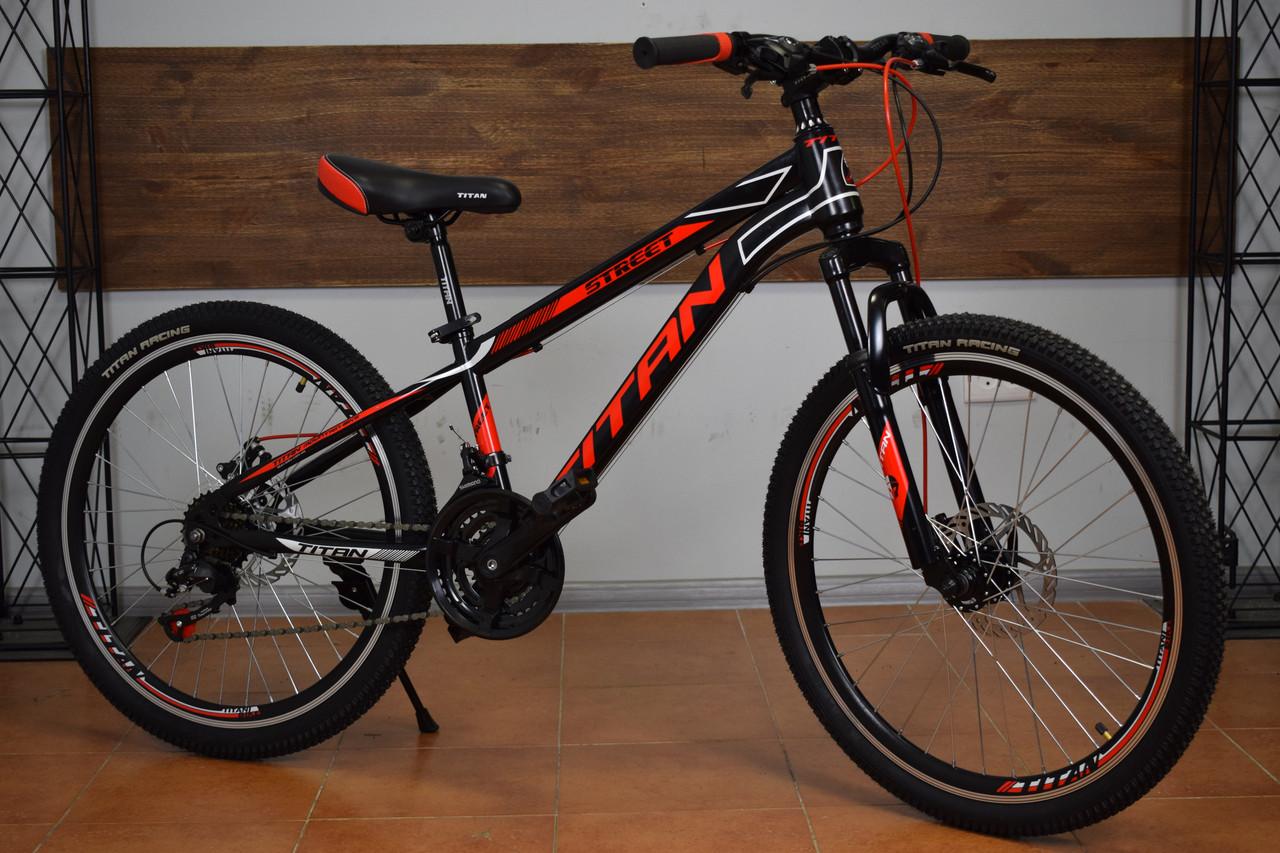 Подростковый горный велосипед 24″ Titan Street NEW 2018!