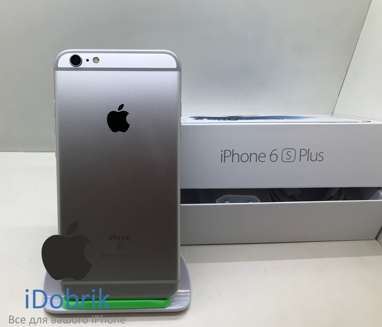 Телефон Apple iPhone 6s Plus 128gb Silver Neverlock 9/10