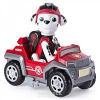 Щенячий патруль тайная миссия Paw Patrol мини спасательный автомобиль с водителем Маршал