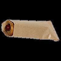 Пакет бумажный  220*90 100шт (95) Крафт