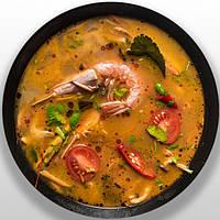 ТОМ ЯМ - традиційний тайський суп #TomYum