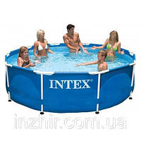 Круглый каркасный бассейн Metal Frame Pool