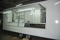 Прицеп торговый двухосный быстрого питания  813310 - 6,0х2,3х2,3 - 2оси (базовая комплектация)