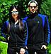 """Женский спортивный костюм """"Adidas"""". Чёрный с синим., фото 6"""