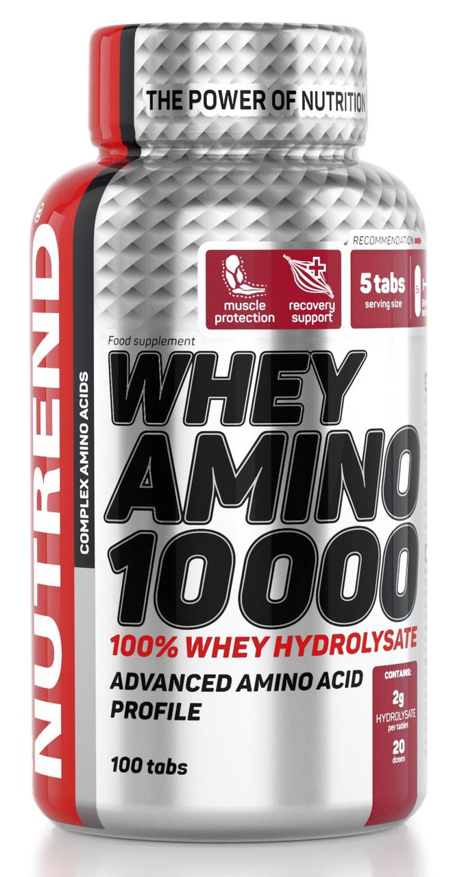 Аминокислоты Nutrend Whey Amino 10 000 100 tabs