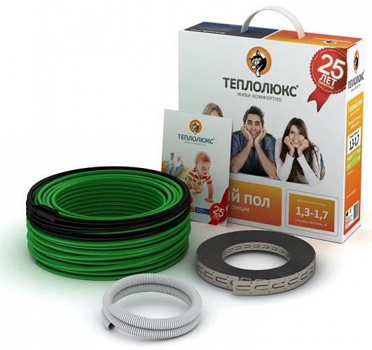 Нагревательный кабель Теплолюкс 20ТЛБЭ2-161 (16.1 - 20.1 м2)