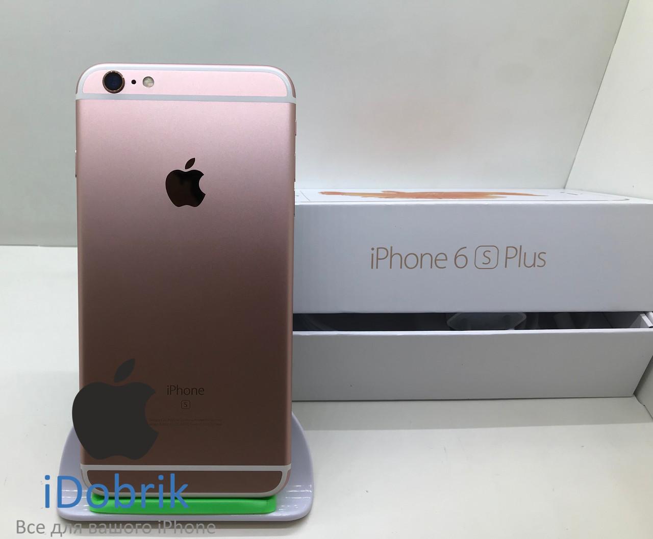 Телефон Apple iPhone 6s Plus 128gb Rose Gold Neverlock 9/10