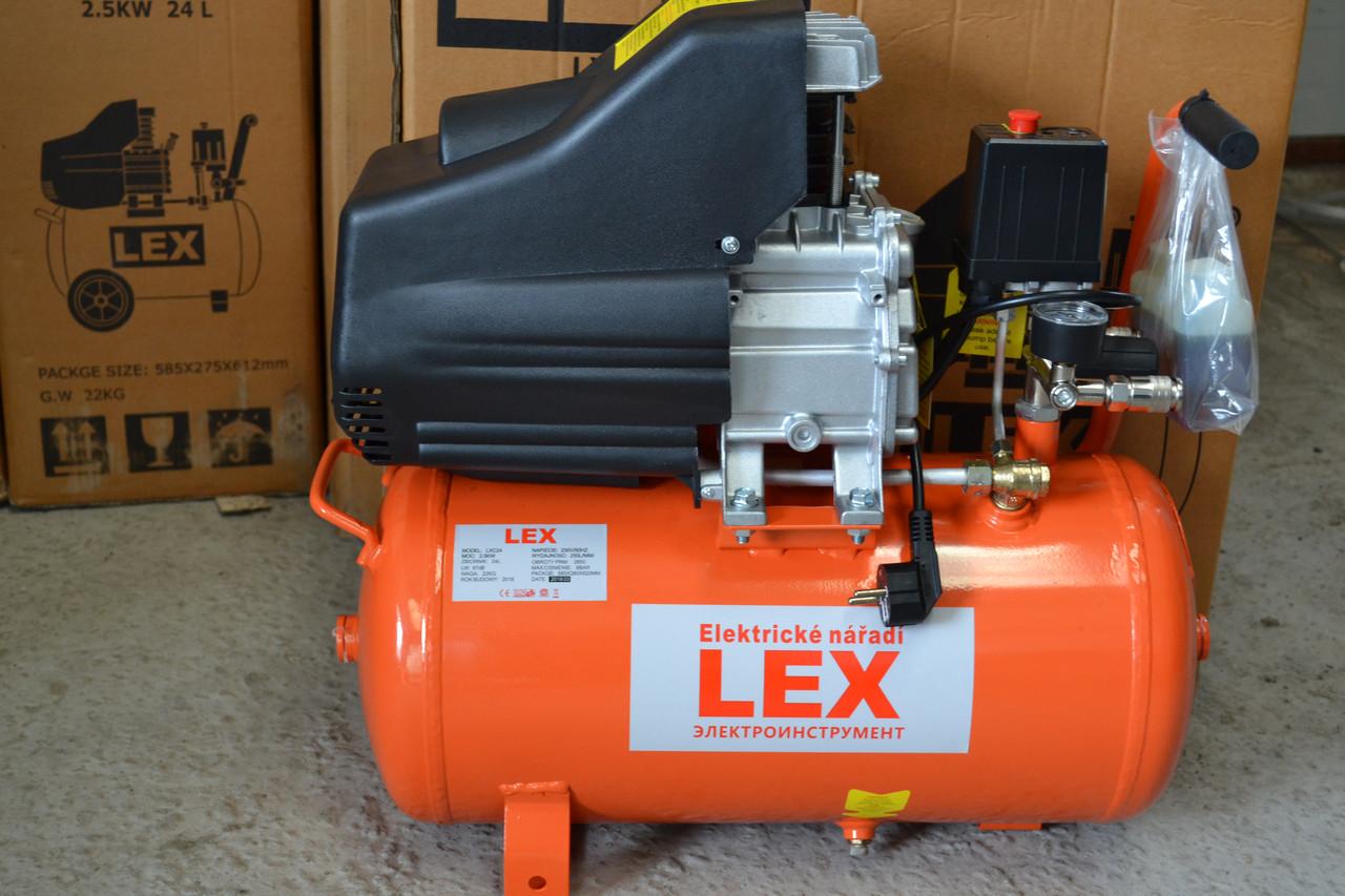 Компресор LEX LXC-24, 250л/хв