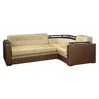 Угловой диван Кубо с боковинами Мебус