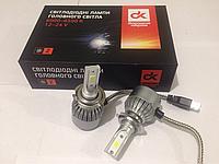 Светодиодные LED лампы Дорожная карта H7 LED