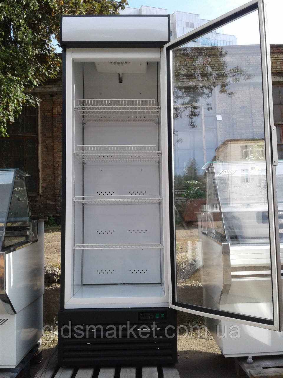 Холодильный шкафчик Ice Stream б/у, шкаф витрина б у, шкаф холодильный б у