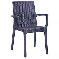 Пластиковое кресло «Dafne» антрацит, фото 1