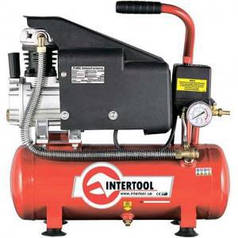 Компрессор Intertool 9л (арт. PT-0002)