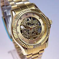 Женские часы с автоподзаводом Слава скелетон