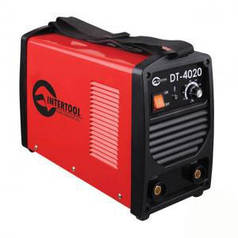 Сварочный инвертор Intertool 230В, 7 кВт, 30-200 А (арт. DT-4020)