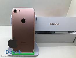 Телефон Apple iPhone 7 128gb Rose Gold Neverlock 10/10