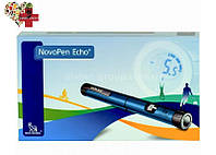 Шприц-ручка НовоПен Эхо (NovoPen Echo) (синяя)