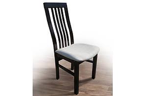 Деревяний стілець Прем'єр (темний горіх)