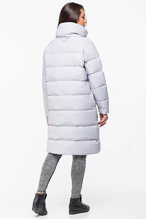Стильная женская зимняя куртка MSD-P777 (серая) размер М, фото 2