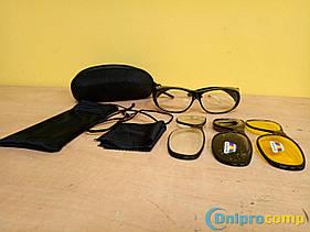 Очки защитные / автомобильные 3 стекла