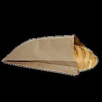 Пакет бумажный 410*250*55 100шт (1099) Крафт