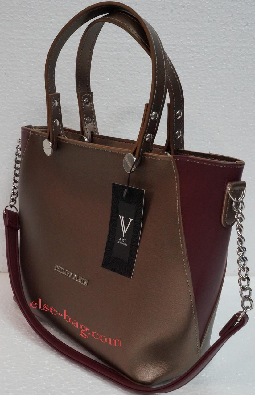 4d42f6bf10df Женская сумка из экокожи с цепочкой копия -