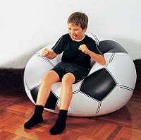 Надувное кресло футбольный мяч.
