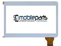 """Оригинальный Сенсор (Тачскрин) для планшета 10.1"""" YLD-CEGA300-FPC-A0 (240x162 мм, 50 pin) (Белый-Самоклейка)"""