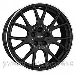 """Диски ATS (АТС) модель CROSSLIGHT цвет Racing-black lip polished параметры 8.5J x 19"""" 5 x 112 ET 30"""