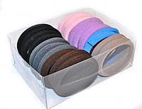 Резинки цветные из микрофибры 20 штук