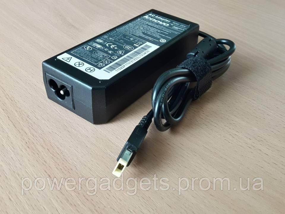 Блок питания Lenovo ThinkPad 20V 4.5A 90W Square с иголкой внутри
