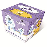 Платочки универсальные двухслойные bella baby Happy, цыпленок, 40+40 шт.