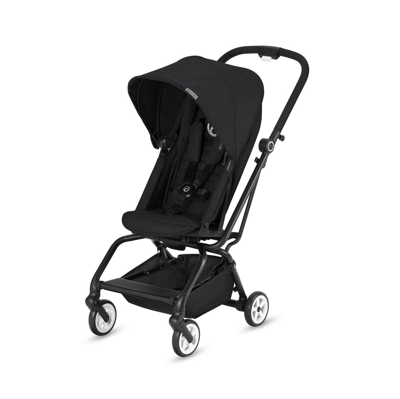 Cybex - Прогулочная коляска Eezy S Twist, цвет Lavastone Black