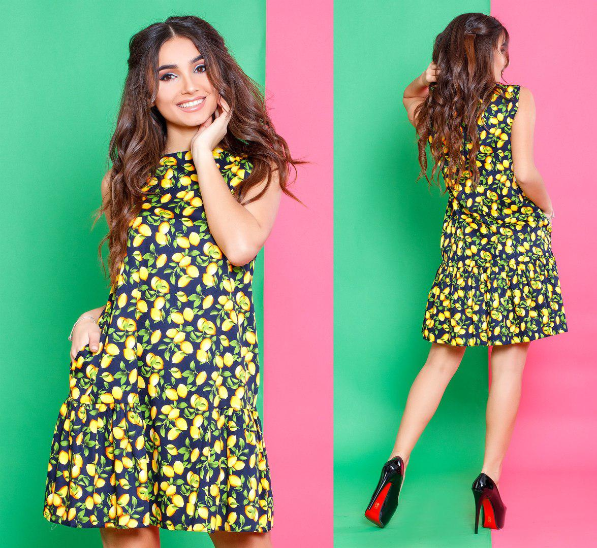 215a2fe4aeb Стильное женское летнее платье оптом  продажа