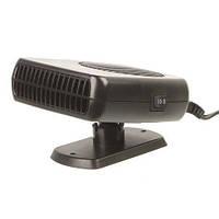 Обогреватель-вентилятор 2 в 1 от прикуривателя в авто Чёрный 24 В