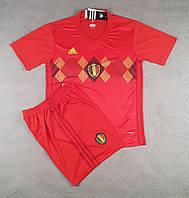 Футбольная форма национальной сборной Бельгия красный  сезон 2018