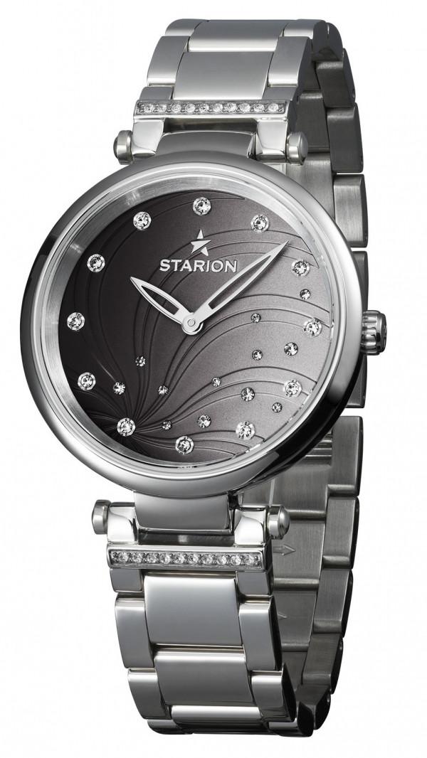 Годинник жіночий STARION J036C.04 S/Black Браслет