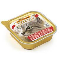 Вологий корм STUZZY Cat для котів паштет курка печінка 0.1 кг
