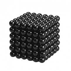 Неокуб NeoCube Черный [5мм * 216 шариков] + Металлическая Коробка в Подарок