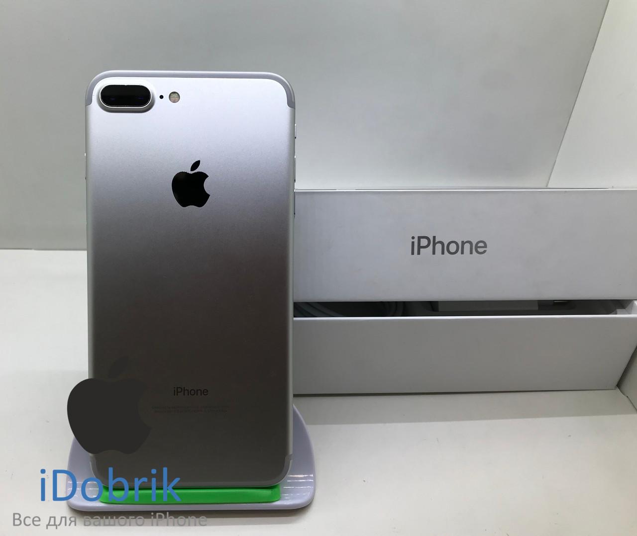 Б/У iPhone 7 Plus 256gb Silver Neverlock 9/10
