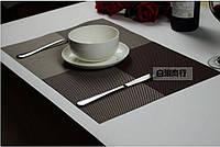 Сервировочные коврики для стола Home Essentials ( коричневый) 4 шт, фото 1