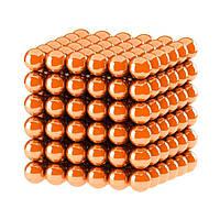 Неокуб NeoCube Оранжевый [5мм * 216 шариков] + Металлическая Коробка в Подарок