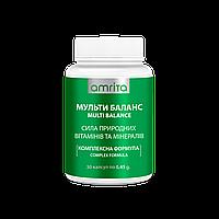 Витамины Мульти Баланс  группа В с селеном. Amrita Multi Balance, 30 капс