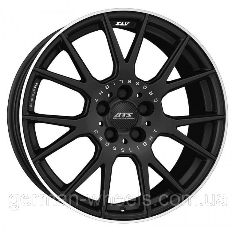 "Диски ATS (АТС) модель CROSSLIGHT цвет Racing-black lip polished параметры 9.0J x 19"" 5 x 112 ET 30"