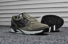 Мужские кроссовки Asics Gel Kayano Green (реплика), фото 3