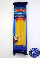 Макарони з твердих сортів пшениці Combino Spaghetti спагеті 500 г. Італія