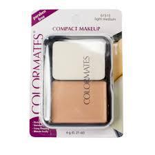 Пудра COLORMATES Compact Makeup Light Medium