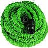 Поливочный шланг с водораспылителем X-hose 60 м. Magic Hose (Икс Хоз) Зеленый