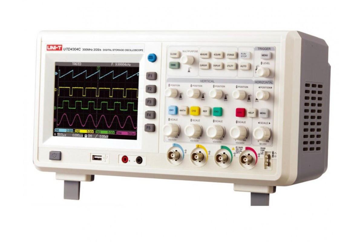 Цифровий осцилограф UNI-T UTD4204C, 200МГц